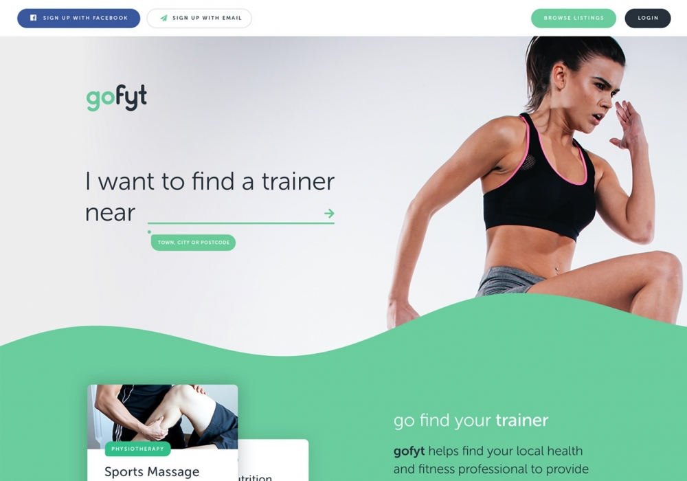 A preview image of GoFyt